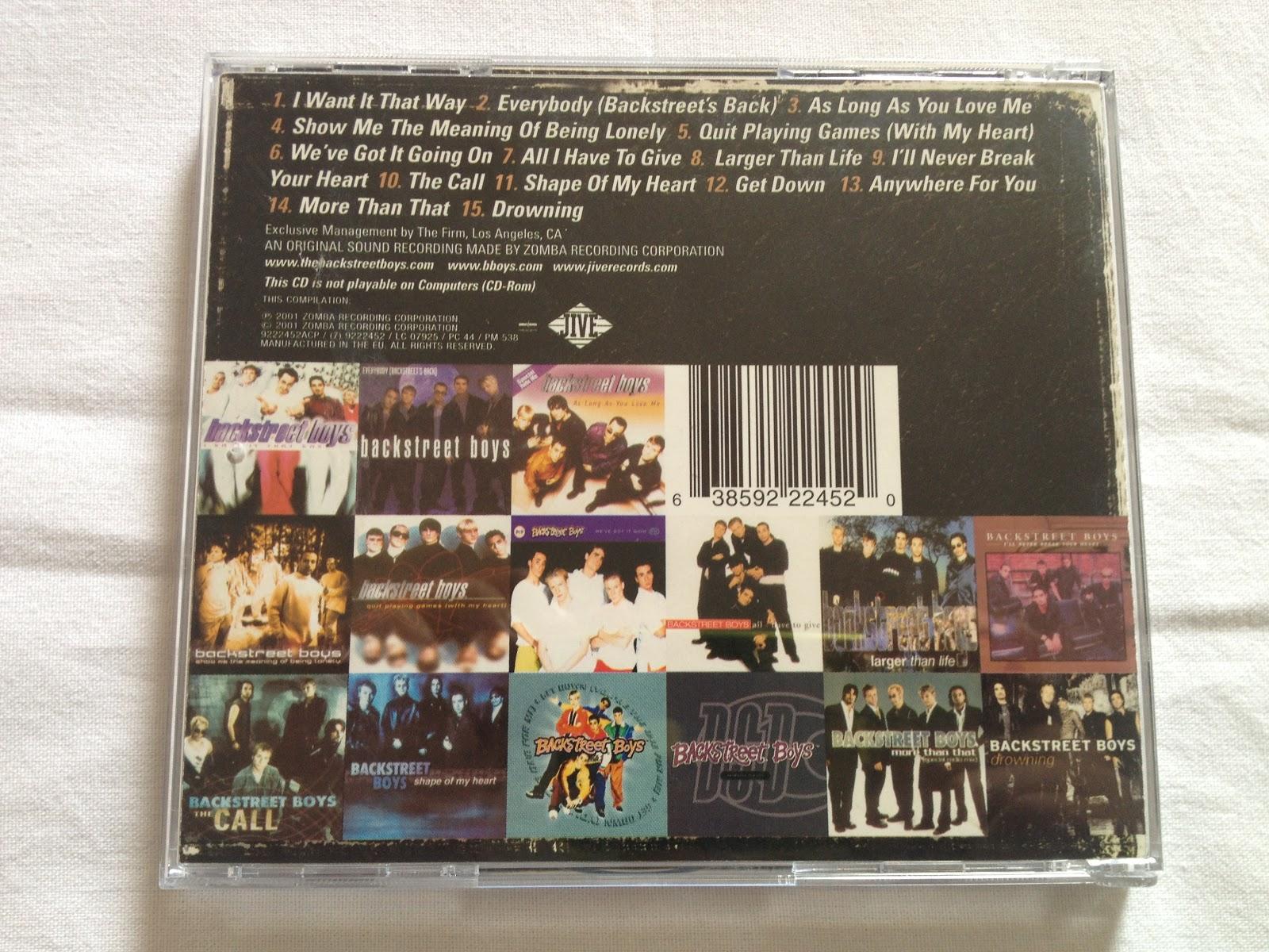 cds collection     backstreet boys