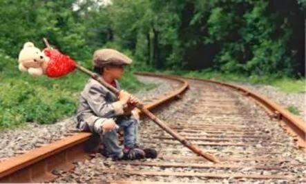 The Grand Adventure - child kid boy railway train