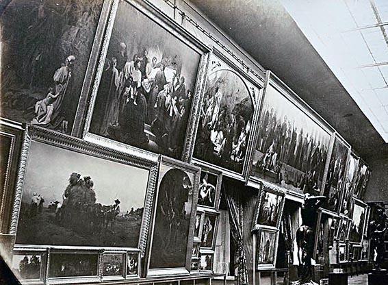 Stands Expo Universelle : Gustave courbet en cinq ou dix leçons leÇon n° le cas