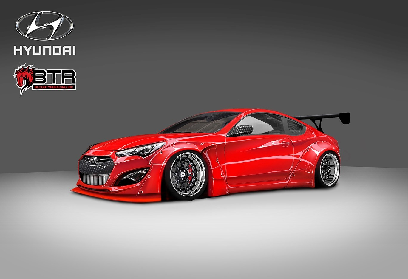 Another Sema Another Hyundai Genesis Coupe Project This