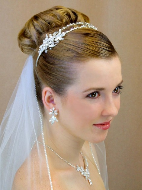 Wedding Hairstyles For Short Hair With Veil And Tiara | Wedding Ideas