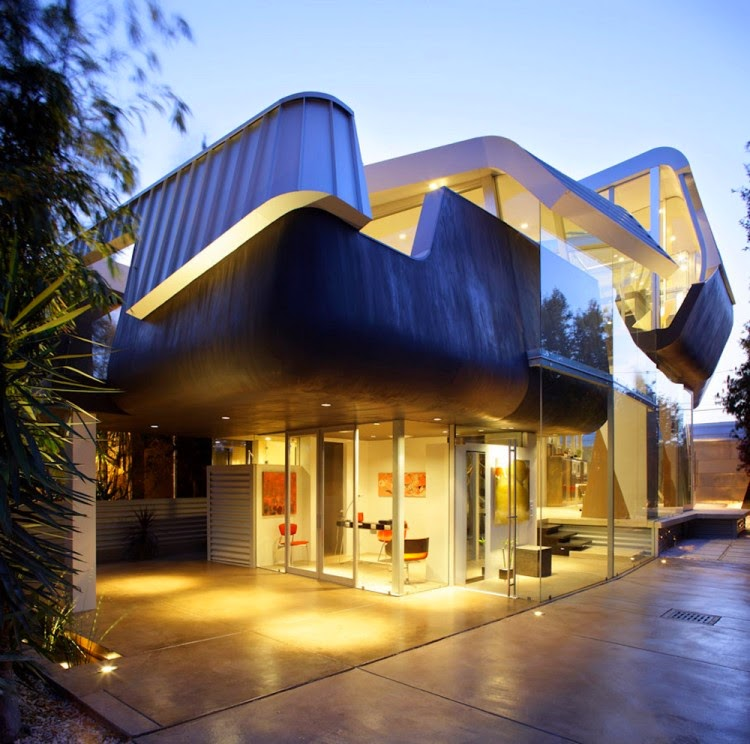 The Skywave Residence by Coscia Day Architecture and Design: