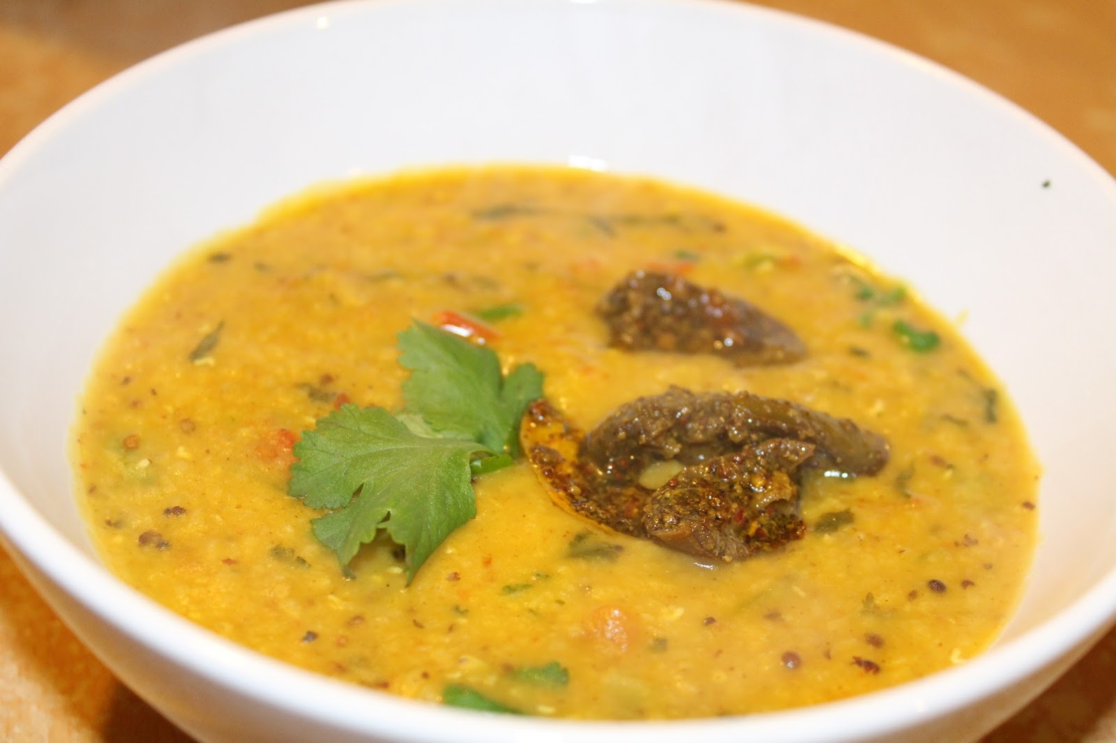 spicy red lentils pressure cooker masoor daal