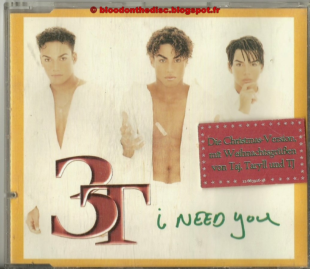 I Need You Christmas Mix Maxi CD Pochette