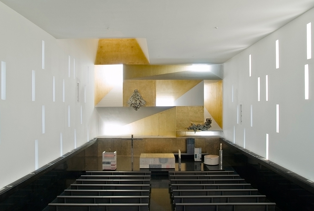 Iglesia de santa m nica de vicens ramos blog for Blog arquitectura y diseno