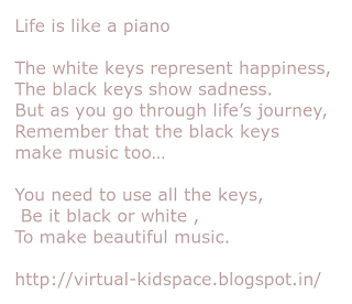 life is like a piano quotes