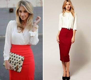 Red skirt: what to wear and where to wear | WOMEN TIPSTER