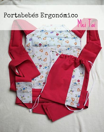 Comprar Portabebes Mei Tai en fucsia