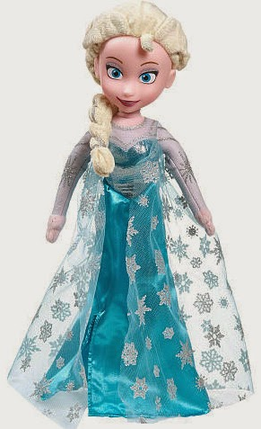 Personajes de Frozen, Regalos de Navidad
