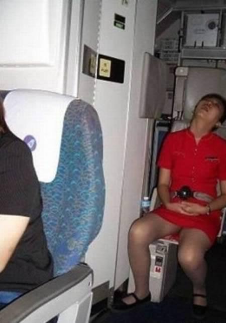 upskirt on train Sleeping