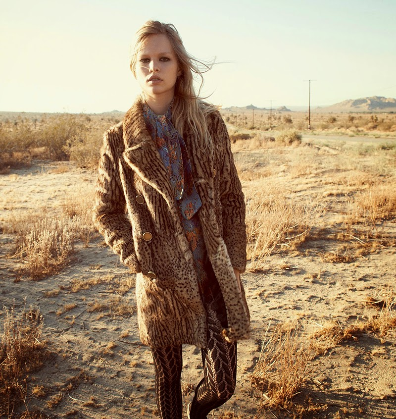 Two Weeks In September: Anna Ewers By Glen Luchford For Uk Vogue October 2014