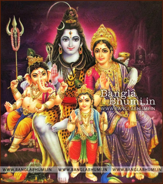 Lord Shiva Parvati Ganesh Kartikeya HD wallpapers Free Download - Indian GODs Wallpapers