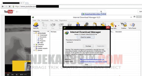 IDM Terbaru 2015 : Internet Download Manager V.6.23 Full Crack + Keygen