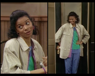 Cosby Show Huxtable fashion blog 80s sitcom Yvonne Erwin Sarah