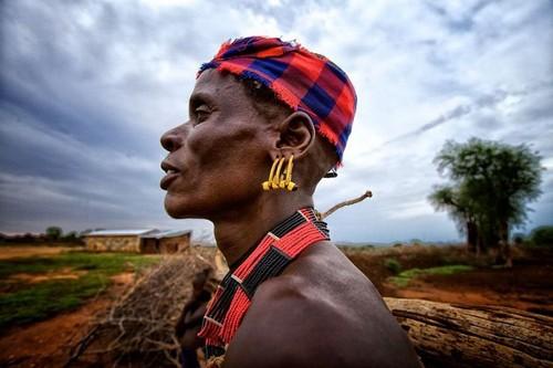Tribu en Etiopía - Turmi