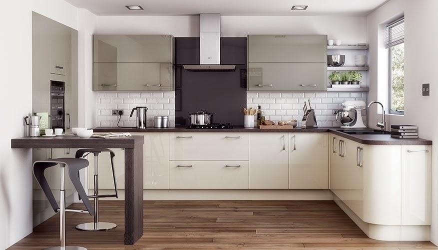 30 modelos de mesas y barras para cocinas de todos los for Mesa de cocina esquinera