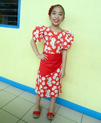 Filipiniana Costume Kids