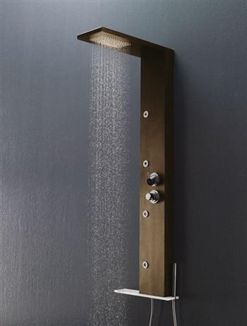Persia group samo colonne doccia attrezzate serie trendy - Soffione della doccia ...