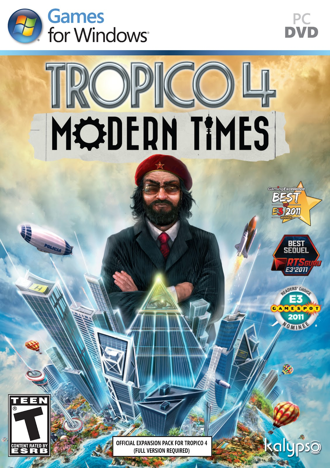 Dream Games: Tropico 4 Modern Times Addon
