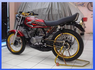 Foto Modifikasi Yamaha RX King