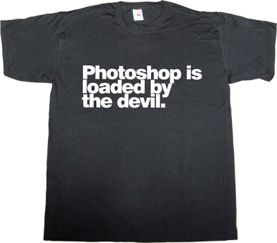 photoshop graphic design fun adobe t-shirt ephemeral-t-shirts
