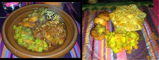 Image Tajine de souris d'agneau aux fruits, façon Belle saison - Pastilla au poulet parfumé et ses amandes grillées