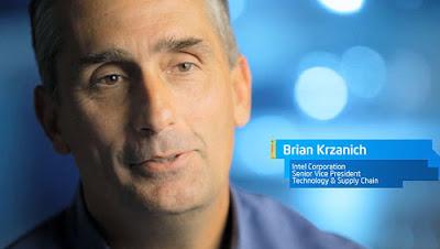 Brian Krzanich es el nuevo CEO de Intel