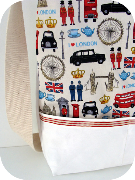 London summer Olympics tote bag