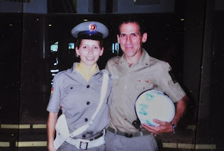 Luane Chaves Lemes in Uniform