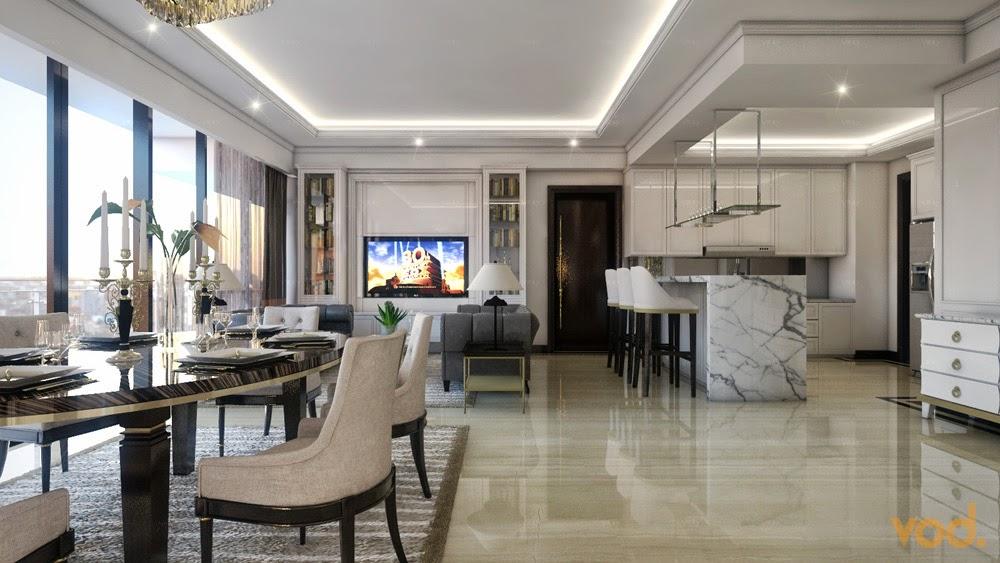 Putih Adalah Warna Dominan Pada Design Apartment Ini Sesuai Keinginan Klien Style Yang Ingin Dicapai Modern Klasik Elegan Dan Mewah