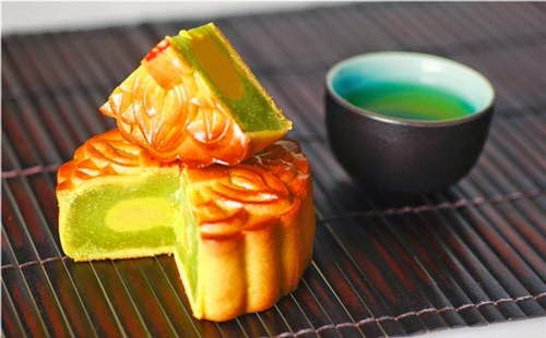 Grilled Moon Cakes