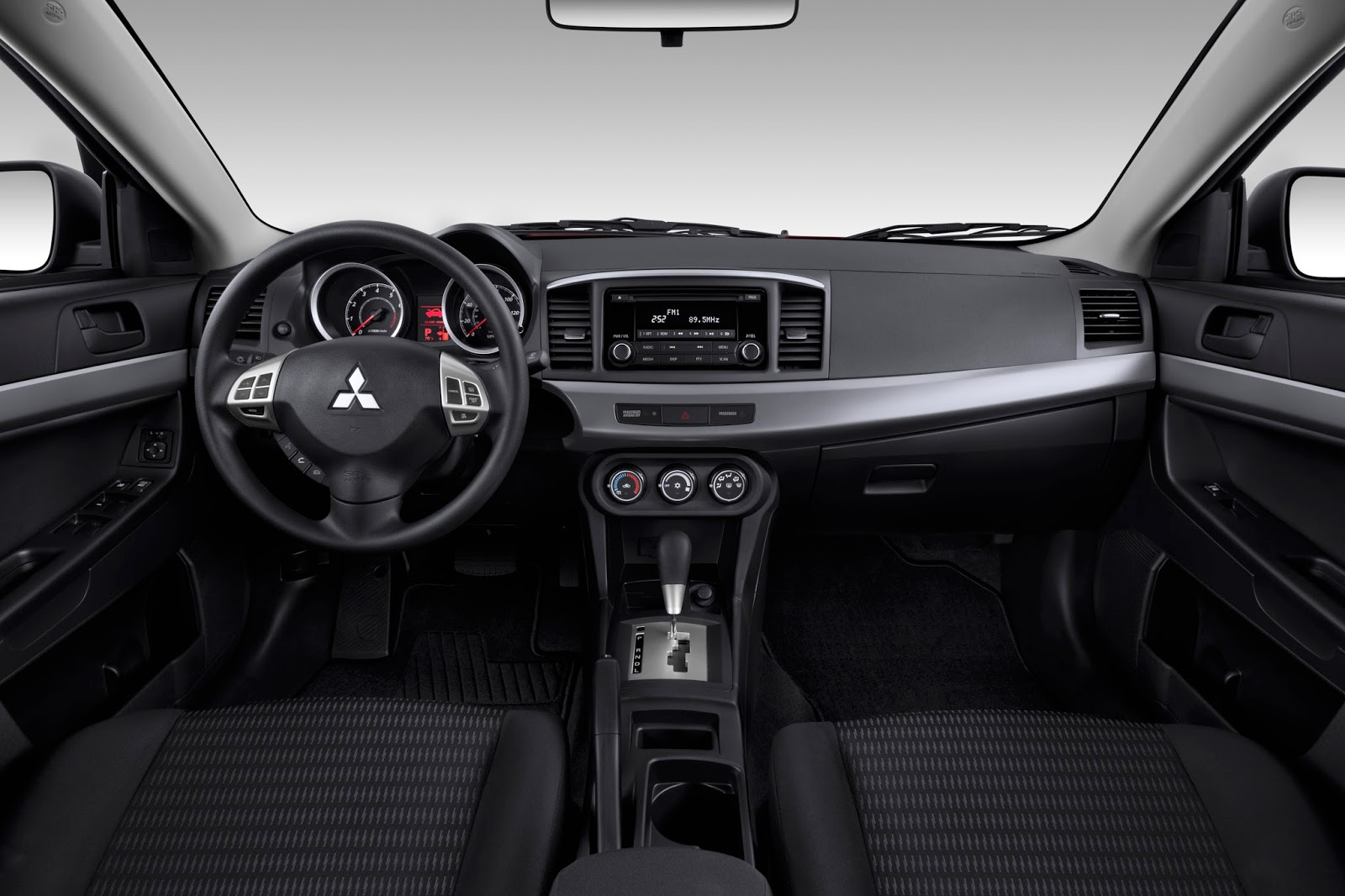 Interior view of 2014 Mitsubishi Lancer GT