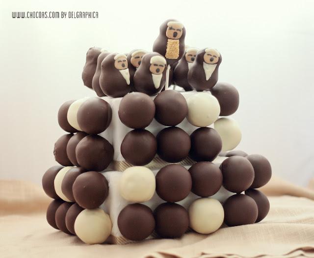 Tarta de cakepops