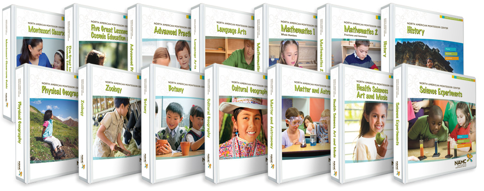 NAMC lower elementary montessori manuals