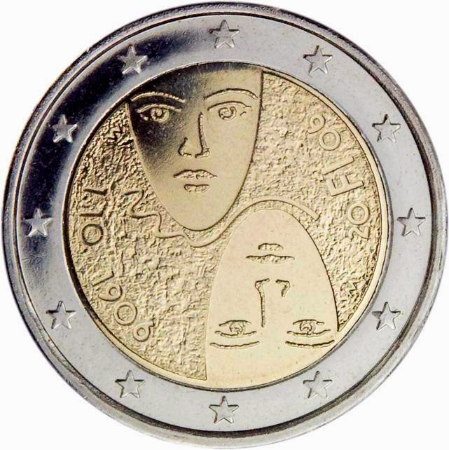2 euro Finland 2006, Introduction of Universal and Equal Suffrage
