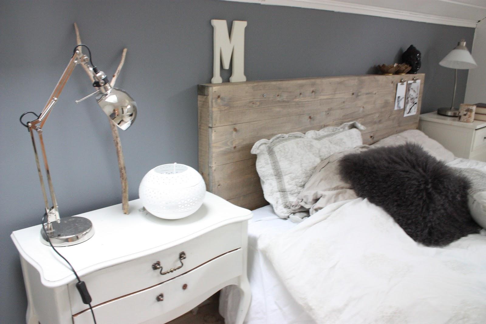 Mitt lille verksted.: Lage meg ny sengegavl...