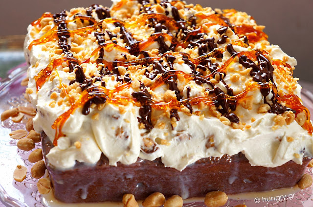 Snickers and Peanuts Torte