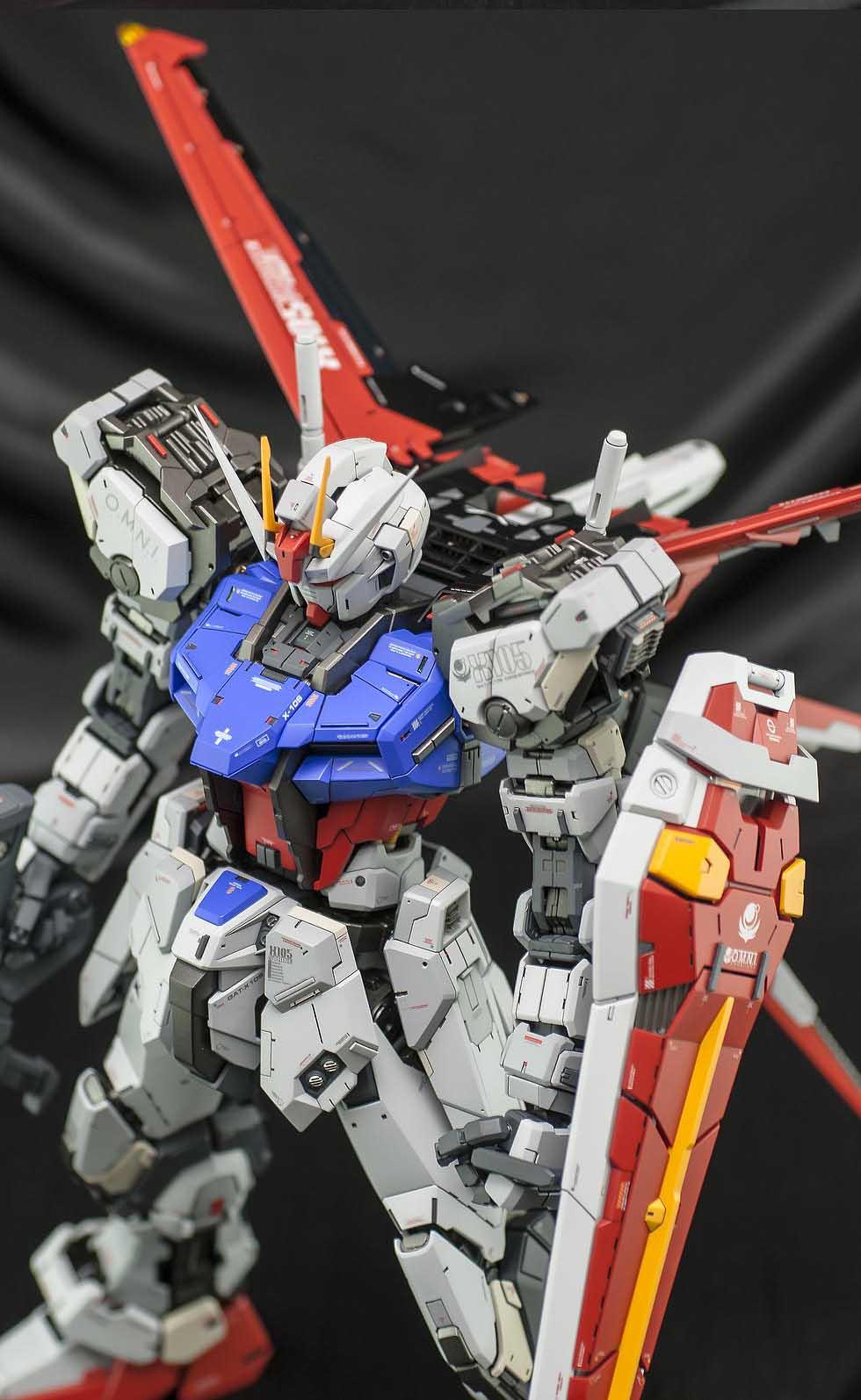 PG 1/60 Aile Strike Gundam - Customized Build