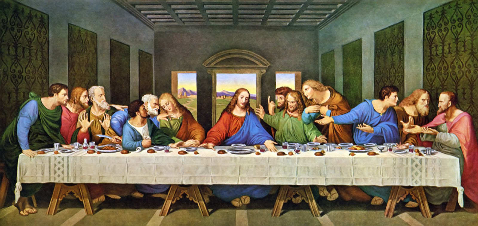 Explore and Express: Godly Play: Jesus and the 12 Da Vinci Last Supper Restored