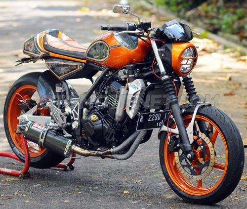 Foto Modifikasi Kawasaki Z250 Neo Cafe Racer