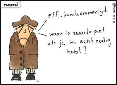 Zomperd - Komkommertijd - Zwarte Piet