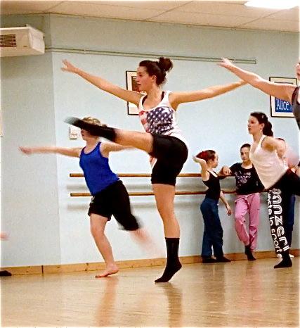 ecole de danse dominique jean et camille vigier stage de danse moderne jazz
