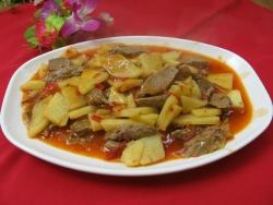 Daging Tumis Madu Nanas