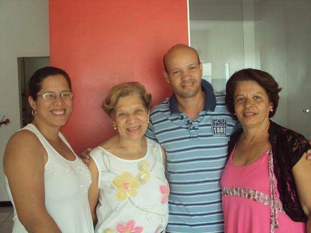 Visita professora Denise Miranda a APLB Camacan em 14 de setembro de 2012