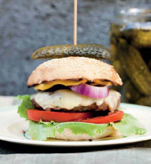 The American Cheeseburger