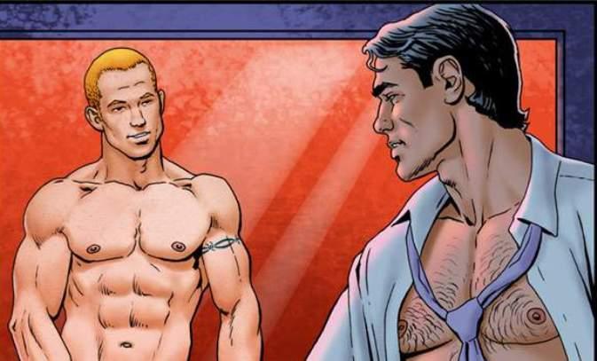 Free gay porn comic