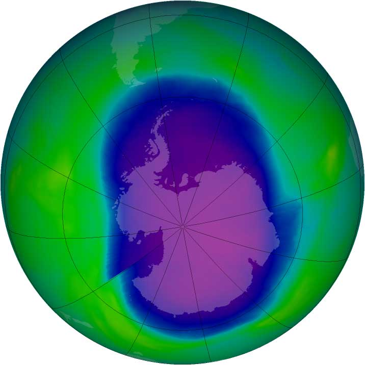an introduction to the issue of atmospheric ozone layer depletion An introduction to the ozone layer ozone layer is a part of the stratosphere―the second layer of the earth's atmosphere while the stratosphere extends to a height of 3104 miles, the ozone layer starts from 807 miles and extends up to 2042 miles above the surface of the earth.