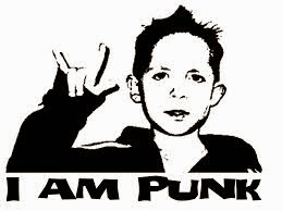 Punk is Not Dead, It Just Grew Up  - punk rock kid child