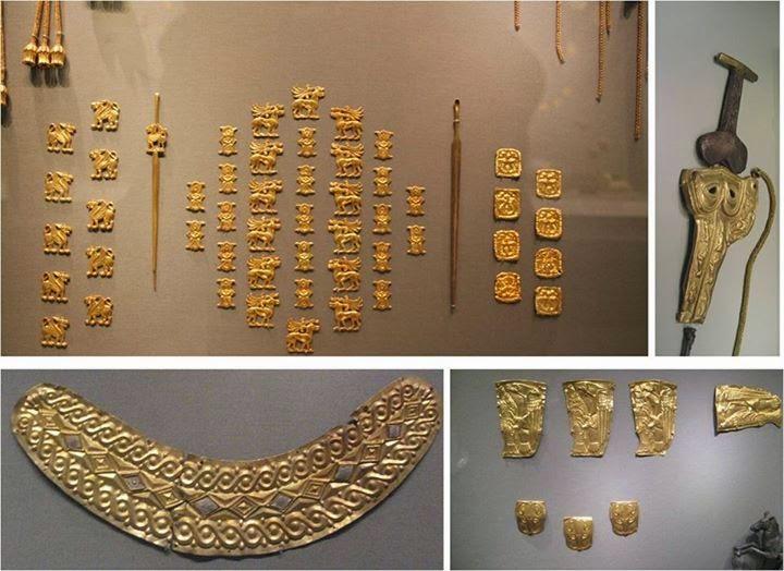 Kafkasya-Maykop İskit Eserleri, Altes Müzesi, Berlin Almanya