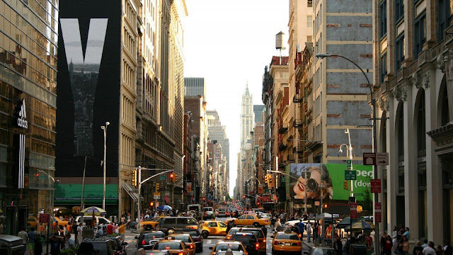 New York City Street HD Wallpaper